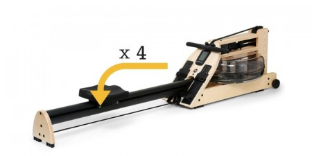 WaterRower A1 Load Wheels
