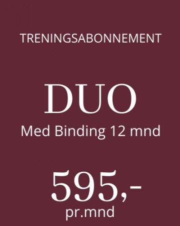Lux Fitness DUO - Med Binding